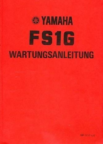 Yamaha FS1G Wartungs- und Reparaturanleitung