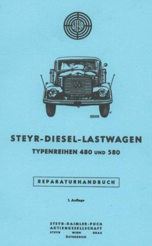 Steyr 480 und 580, Reparaturanleitung
