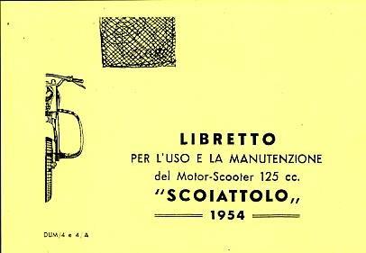 Rumi Scoiattolo 125 Roller, Betriebsanleitung