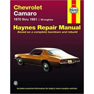 Chevrolet Camaro V8 - 1970-1981