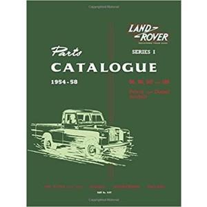 Land Rover Series 1 Parts Catalogues 1954-58