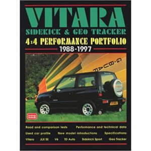 Vitara, Sidekick & Geo Tracker 4x4 Performance Portfolio 1988-97