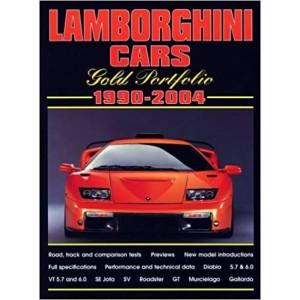 Lamborghini Cars 1990-2004 Gold Portfolio
