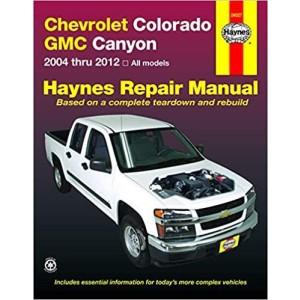 Chevrolet Colorado GMC Canyon 2004 thru 2012