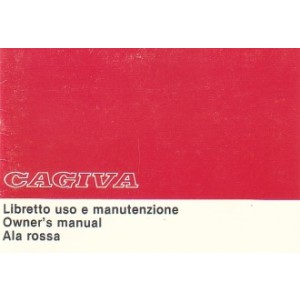 Cagiva Ala Rossa 350 Betriebsanleitung