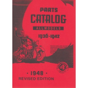 Indian Motocycle - All Models 1936 - 1942, Parts Catalog