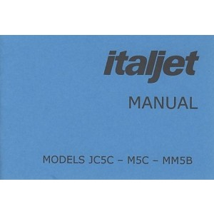 Italjet JC 5C, M5C, MM5B Motocross Manual