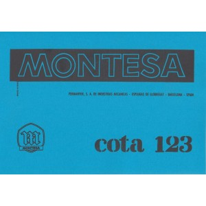 Montesa Cota 123/123T Parts Book and Maintenance
