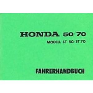 Honda ST 50 / 70 Dax Betriebsanleitung