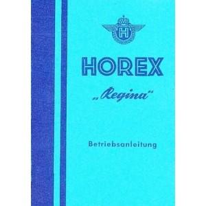 Horex Regina 2 / 3 / 4 Betriebsanleitung