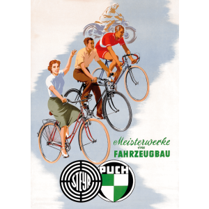 Puch Fahrrad Poster