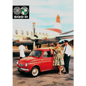 Puch 500 D Poster
