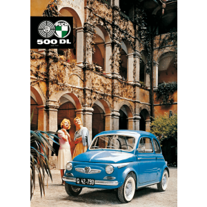Puch 500 DL Poster