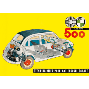 Puch 500 Poster