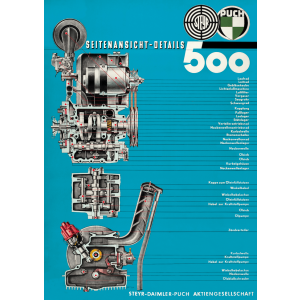 Puch 500 Motor