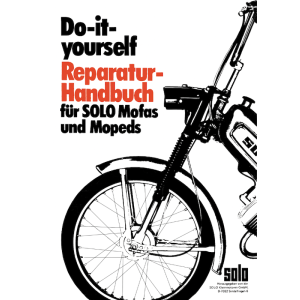 Solo Mofa und Mopeds, Do-it-yourself Reparatur-Handbuch