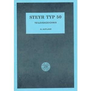 Steyr Typ 50 Ersatzteilkatalog