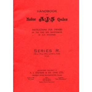 AJS Series R, 2,48 h.p.; 3,49 h.p.; 4,98 h.p. und 9,96 h.p. Models, Betriebsanleitung