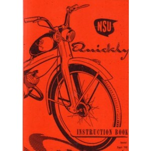 NSU Quickly, Instruction Book