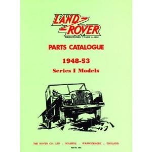 Land Rover Parts Catalog Ser 1 1948-53 (Official Parts Catalogue)
