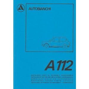 Autobianchi A 112 Karosserie Ersatzteilkatalog
