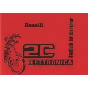 Benelli 125 2C Elettronica, Betriebsanleitung