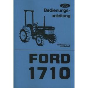 Ford 1710 (Serie 10) Betriebsanleitung