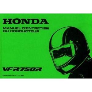 Honda VFR 750 R, 4-Zylinder, sehr detaillierte Betriebs- und Wartungsanleitung