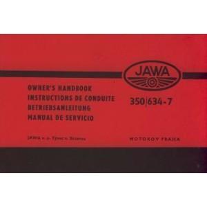 Jawa 634-7, 350 ccm Betriebsanleitung