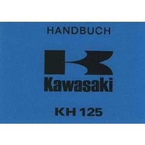 Kawasaki KH 125, Betriebsanleitung