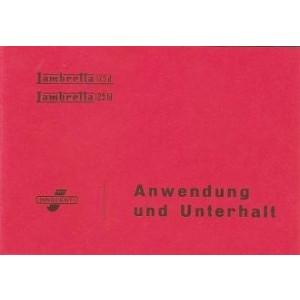 Lambretta 125 d/ ld Betriebsanleitung