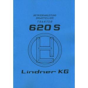 Lindner 620, Betriebsanleitung und Ersatzteilkatalog