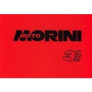 Moto Morini 3 1/2 (350 ccm), Istruzioni