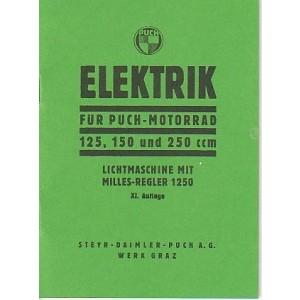 Elektrik für Puch Motorrad 125, 150 und 250 ccm