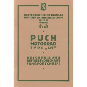 Puch LM Betriebsanleitung