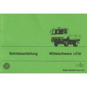 Steyr Mittelschwere LKW Typen 9 S bis 16 S 21 Betriebsanleitung