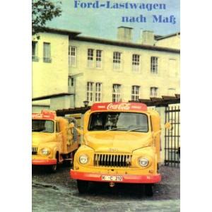 Ford LKW - Lieferwagen - Bus, Prospektreproduktion