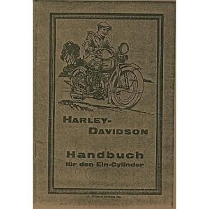 Harley-Davidson, 1-Zylinder, Betriebsanleitung