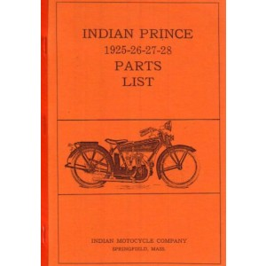 Indian Prince Spare Parts Manual