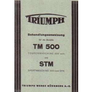 Triumph TM 500 / STM 500 Behandlungsanweisung