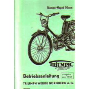 Triumph Knirps 50 ccm, Betriebsanleitung