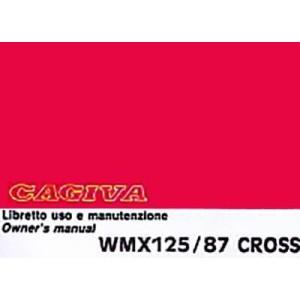 Cagiva WMX 125 / 87 Cross, Betriebsanleitung