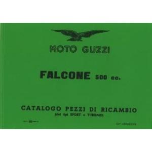 Moto Guzzi Falcone 500 Sport und Turismo, Ersatzteilkatalog