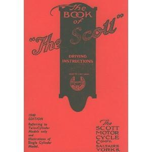 Scott - The Book of The Scott Motorcycle, Betriebsanleitung