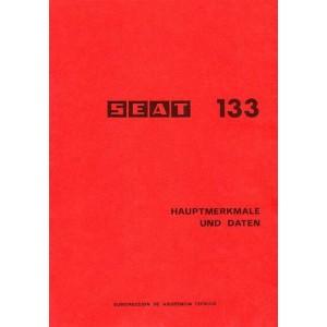 Seat 133, Hauptmerkmale und Daten