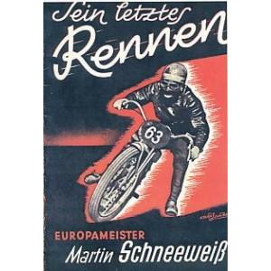 Sein letztes Rennen – Europameister Martin Schneeweiß