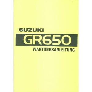 Suzuki GR 650, Reparaturanleitung