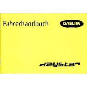 Daelim Daystar Betriebsanleitung