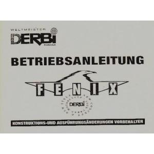 Derbi Fenix Betriebsanleitung