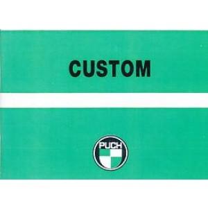 Puch Custom, 2-Gang-Handschaltung Betriebsanleitung
